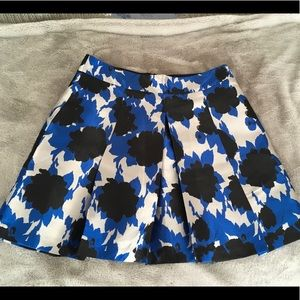 Blue silver gray BR skirt